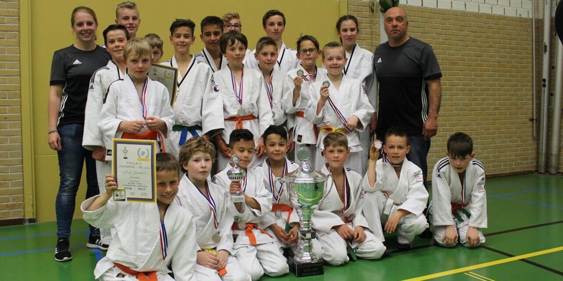 Gennepse judoka's seizoen 2016-2017