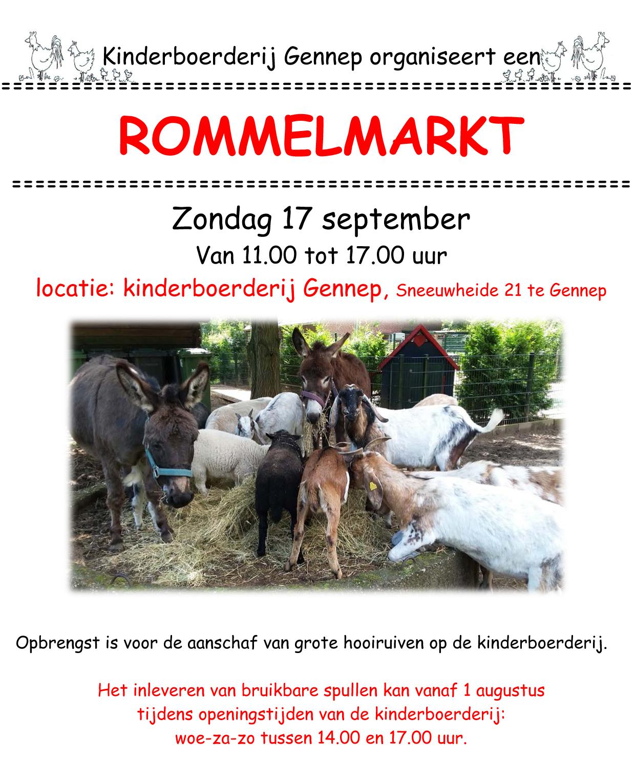 rommelmarkt flyer 2017