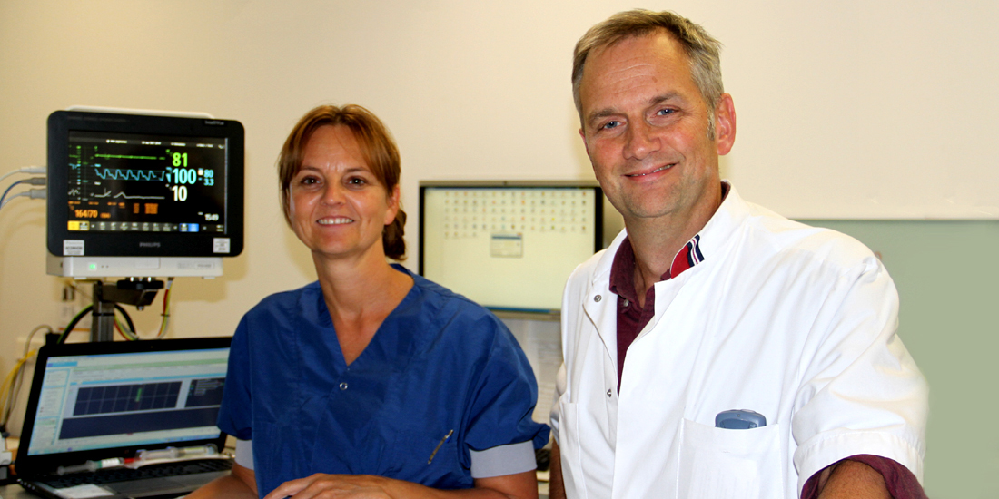 Sander de Wit en Ingrid Verweijen