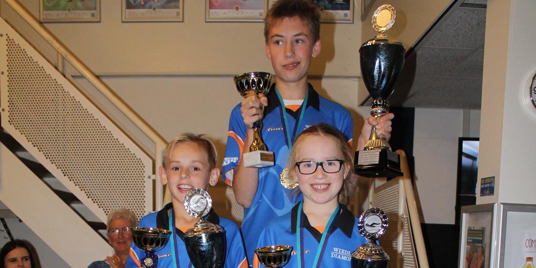 Drie Vivalo-clubkampioenen in Venray
