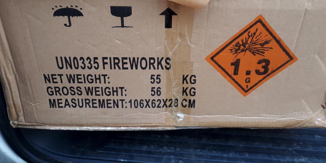 illegaal vuurwerk
