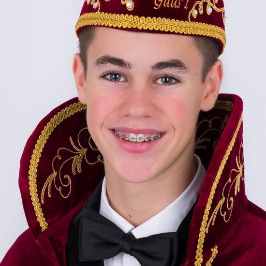 Jeugdprins Guus d'n Urste