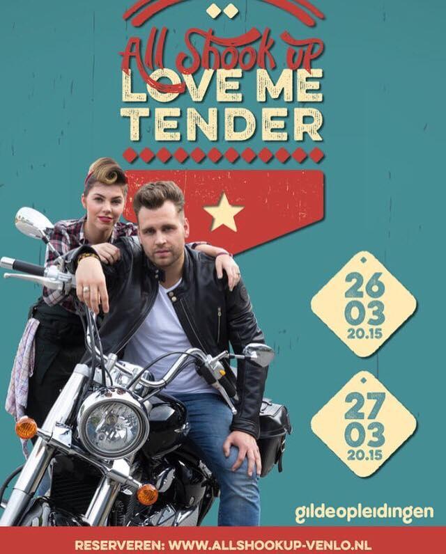 All shook up – Love me tender