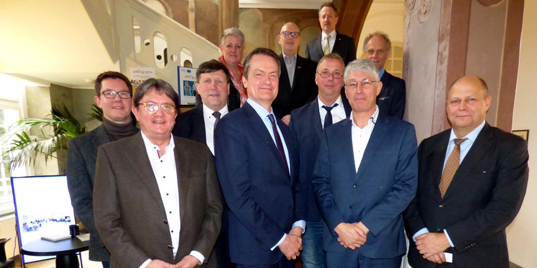 Ambassadeur Kingma op werkbezoek in de Euregio Rijn-Waal
