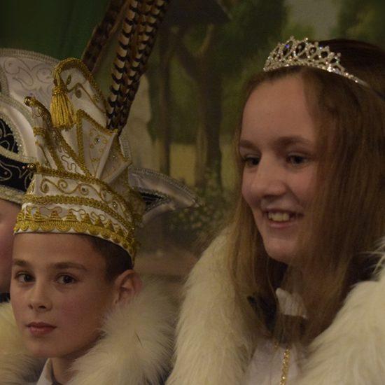 Jeugdprins en -prinses de Wortelpin