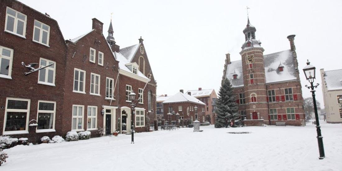 Sneeuw in Gennep