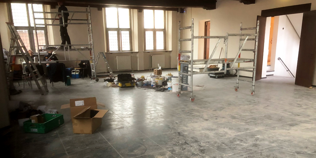 renovatie raadzaal Gennep