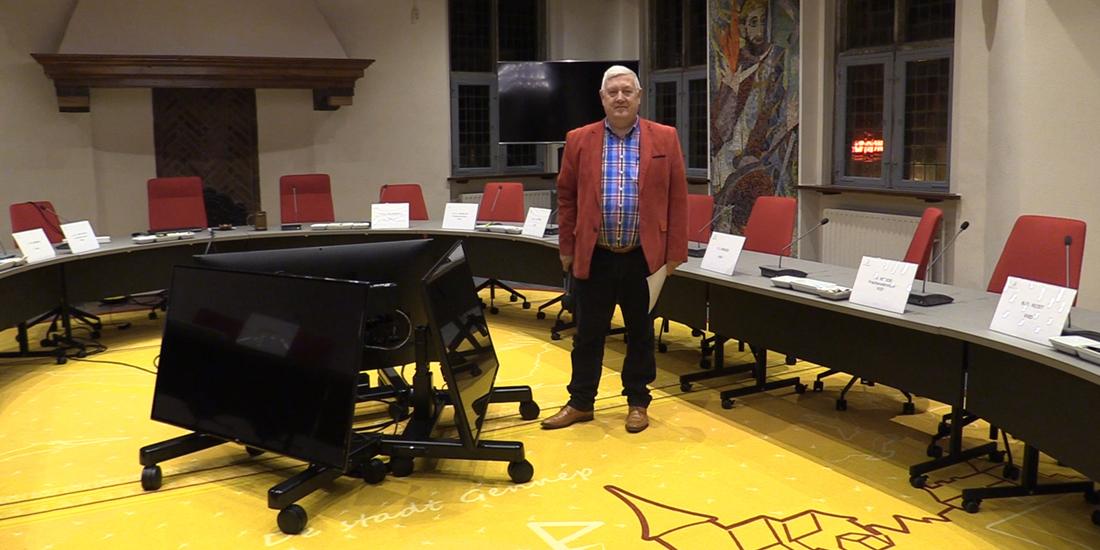 Vernieuwde raadzaal