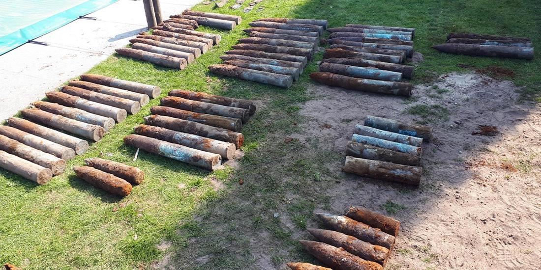 explosieven Milsbeek