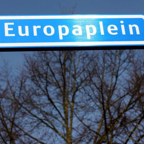 Europaplein in Gennep