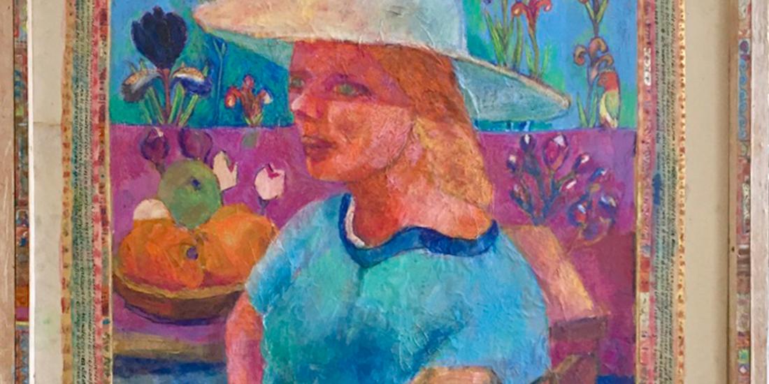 """Het werk """"Even Oneven Om Even Te Leven"""" van de Ottersumse kunstenaar Frans Smeets"""